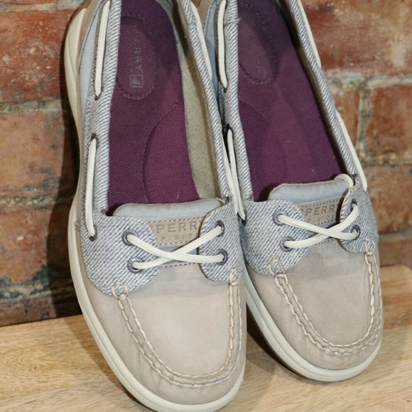 Sperry Top Sider Womens Oxford Deck Boat Shoe Sz.8